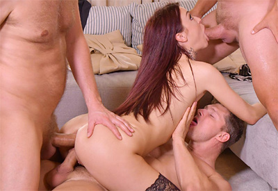 Picture Gallery of Tabitha Poison shoving one hard cock in every pleasure hole