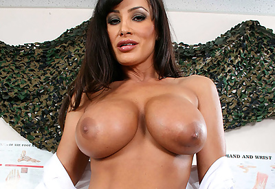 Picture Gallery of Lisa Ann is a Comforting Doctor