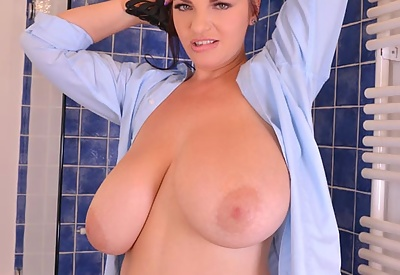 Picture Gallery of Joanna Bliss Blue Shirt Shower