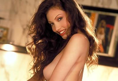 Picture Gallery of Linn Thomas gorgeous brunette pornstar