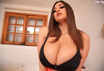 Picture Gallery of Demmi Blaze Curvaceous Big Boobs Glam Babe