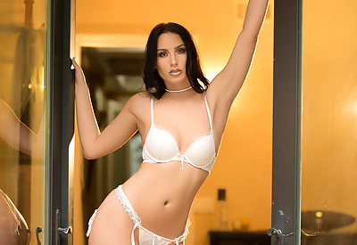Picture Gallery of Kendra Cantara, ivory towers, ivory garter belt
