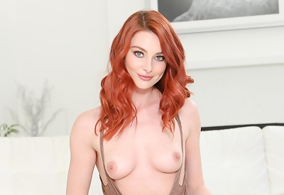 Picture Gallery of Lacy Lennon Redhead Goddess Teases Beautifully