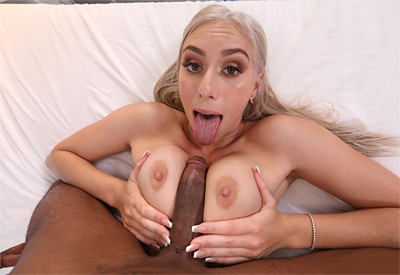 Picture Gallery of Kay Lovely gets banged fast and deep by the pool boy