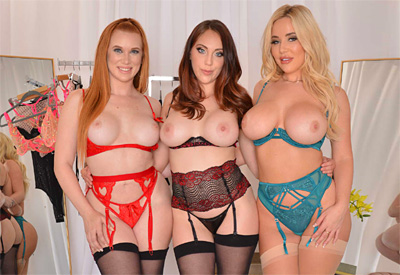 Picture Gallery of Madison Morgan shares with Nickey Huntsman and Savannah Bond