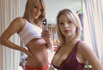 Cyber Girls Kate Brenner and Jessica Kramer dial up sexy pics and video on their camera phones.   Playboy.com is always looking for world-class talent in front of and behind the camera. And now with the advent of h