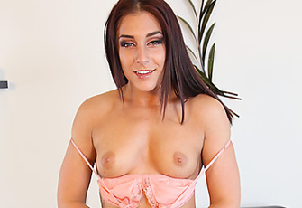Mischa Brooks Loves To Masturbate And Only Uses Her Fingers