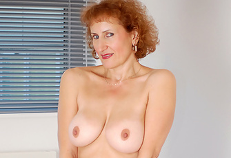 Anilos Model Flaunts Milky Skin Big Tits And Juicy Groomed Pussy