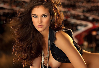 Jaclyn Swedberg has dodged mortar fire while playing war games in the Mojave Desert. She has sped around in a rally car like Danica Patrick. And she has hung 10 in the ocean blue au naturel. I've decided that anythi