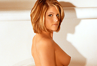 Jennifer is one curvy coed who has graduated into a full-fledged sex kitten.