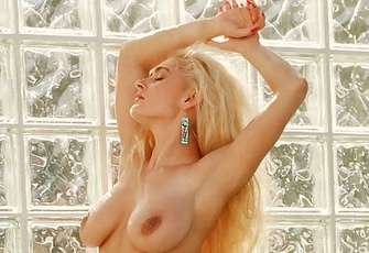 Vanna Lace is an exquisite natural blonde from the early nineties