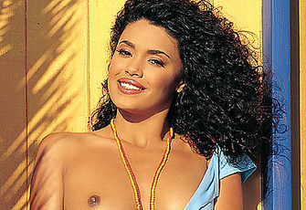 Playmate of the Month August 2002 - Christina Santiago