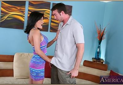 Picture Gallery of Sami Scott welcomes his dick in her pleasure center