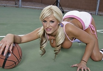Brooke Belle fucking after a game of basketball