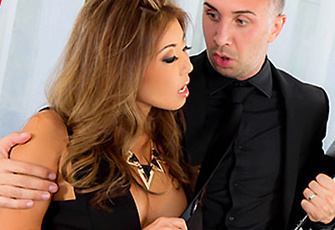 Akira Lane rides his stiff dick at the funeral home