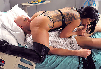 Julia Bond snaps him back to reality with a good fuck