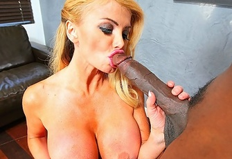 Taylor Wane gets pounded by his massive black spear