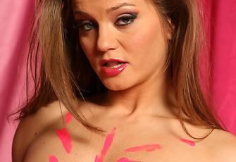 Rita Faltoyano Pink Corset