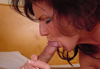 Hot MILF Deauxma loves to suck on a nice hard Cock