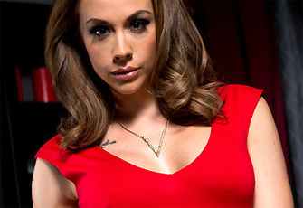 Chanel Preston takes a ride on a famous actor's hard cock