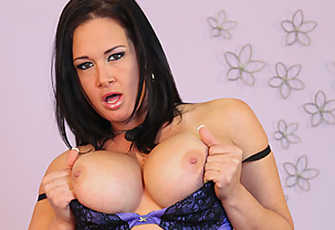 Tory Lane Uses Her Fingers To Masturbate Her Tight Pussy
