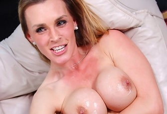 Tanya Tate sucking and fucking her son's friend