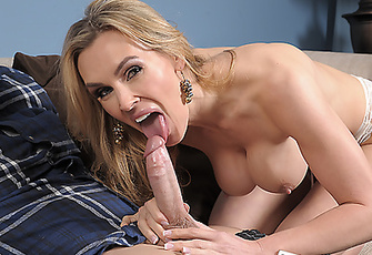 Tanya Tate giving her tutor the lesson of his life