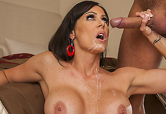Kendra Lust enjoys a little action with a neighbor