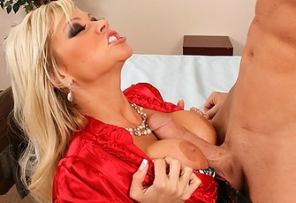 Nikita Von James ends up sucking and fucking his dick