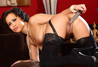 Mia Austin Hot and Solo in Lingerie