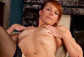 Certified Cougar Kay C Shows Of Her Wet Pink Pussy And Perky Boobs